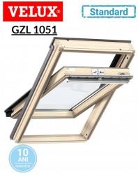 Fereastra de mansarda Velux GZL 1051 Standard - maner sus