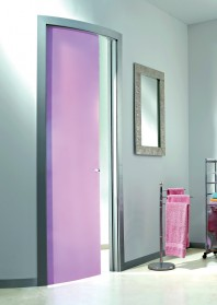 Usa glisanta, panou curb, model Color