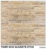 Piatra naturala TIGER SKIN QUARZITE ZT008 15×60 cm