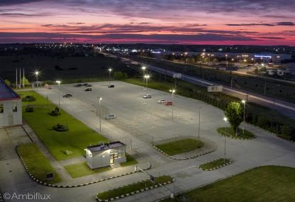 Iluminare cu lampi LED pentru parcare  Bors, Bihor ELECTRONIC INTERACTIV