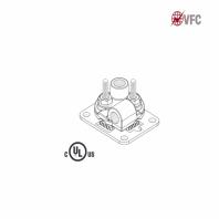 Baze VFC® pentru montajul captatoarelor paratrasnet seria TKU