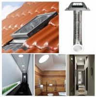 Tunel de lumina Fakro SFZ tub flexibil pentru invelitori ondulate