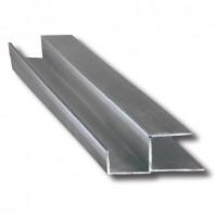 Profil din aluminiu pentru montarea grilelor de ventilatie