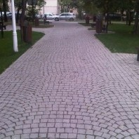Piatra Cubica Sandstone Rosu Vidin Natur 10 x 10 x 5cm - PC-2195