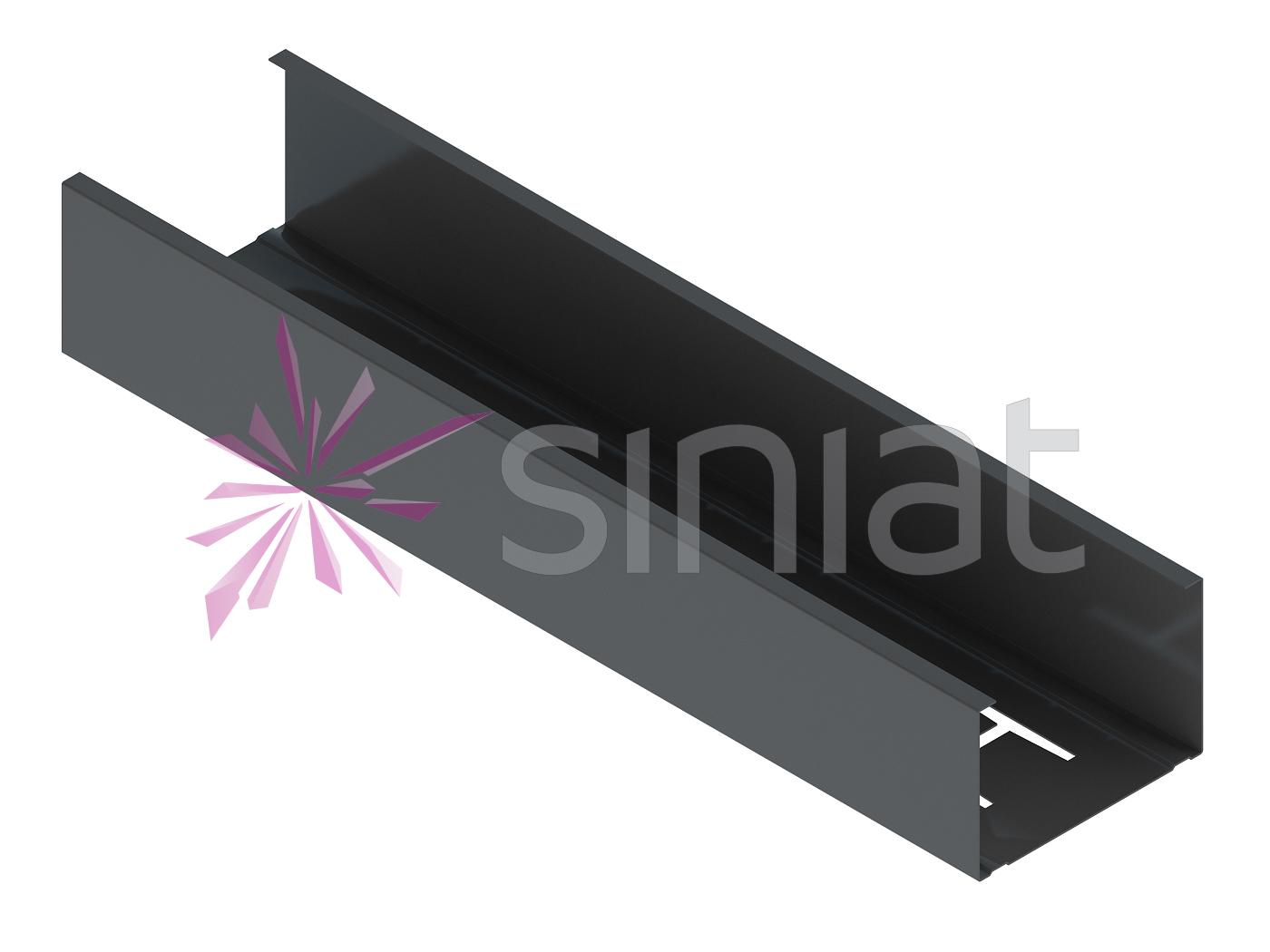 Siniat profil NIDA Metal CW75 ZN275 (rezistent la umezeala)