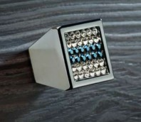 Buton pentru mobila - Mesh Blue