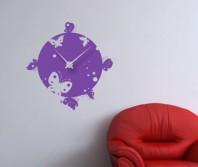 """Sticker tip ceas de perete """"Fluturi, fluturi"""""""