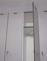 Pereti sanitati -  SANI-CAB SYSTEM-LOCK