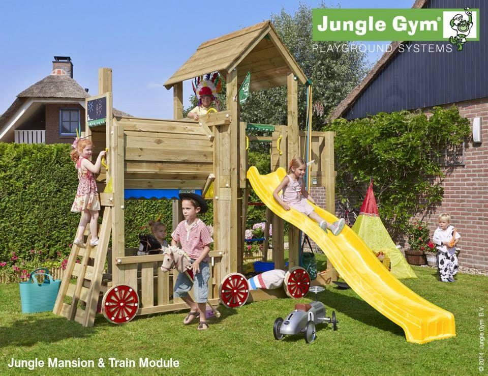 Modul pentru locuri de joaca - JUNGLE GYM TRAIN