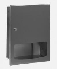 Dispenser de prosoape de hartie din otel inox - SANELA SLZN 56Z