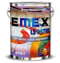"""Lac de Beton Amprentat """"EMEX LS PATIO"""" - Bidon 4 Kg"""