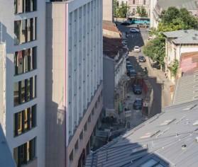 EQUITONE Linea şi EQUITONE Tectiva – alegerea pentru placarea faţadelor Moxy Bucharest Downtown