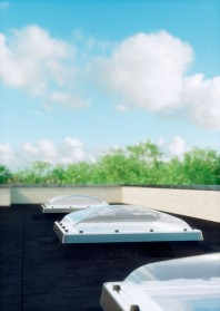 Fereastra tip C pentru acoperis terasa - DEC