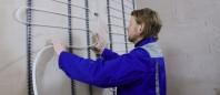 Sistem Uponor Minitec - pentru incalzirea / racirea in pereti si tavane