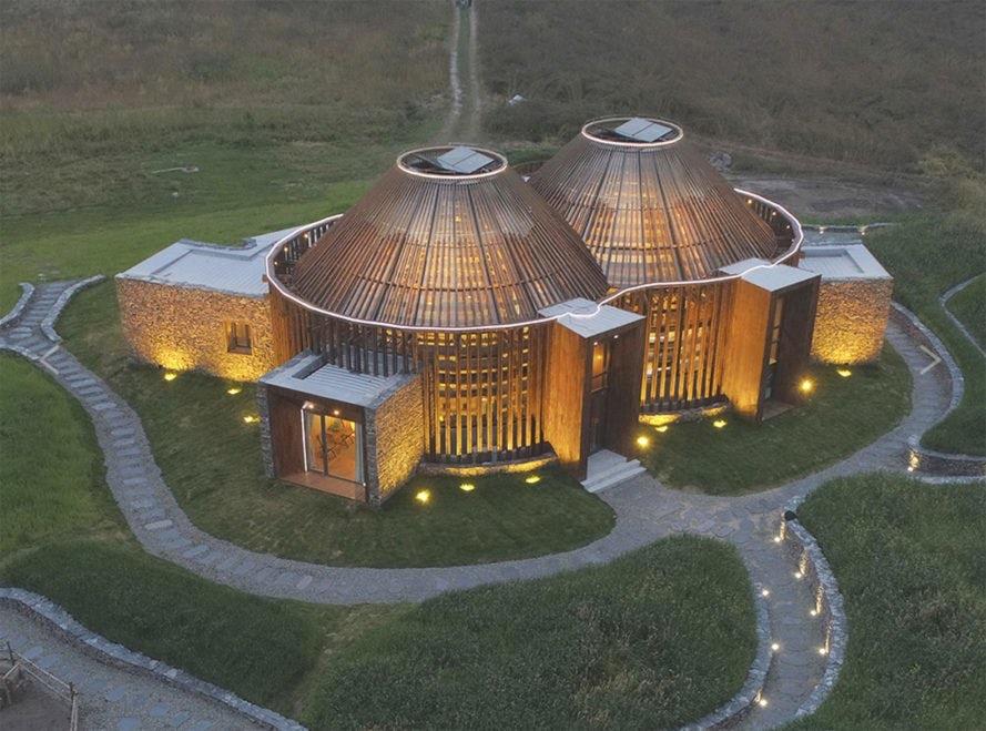 Centrul de vizite Mulan Weichang, China