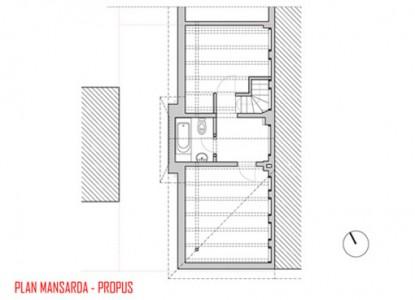 Remodelare mansarda locuinta existenta - str Ioan Bianu 10.12  Bucuresti AsiCarhitectura
