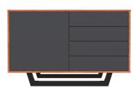 Comoda cu patru sertare - Inchis