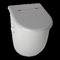 Pisoar Casa cu unitate de spalare cu senzor radar, cu capac - SANELA SLP 33RZ