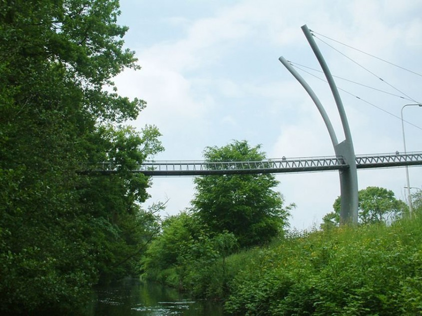 Un alt pod pentru veverite, in Haga, Olanda