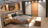 Set dormitor pat + dulap + noptiere WIEMANN