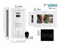 Kit video SMART+ 7'', panou incastrat -  VKM.P2FR.T7S4.ELW04