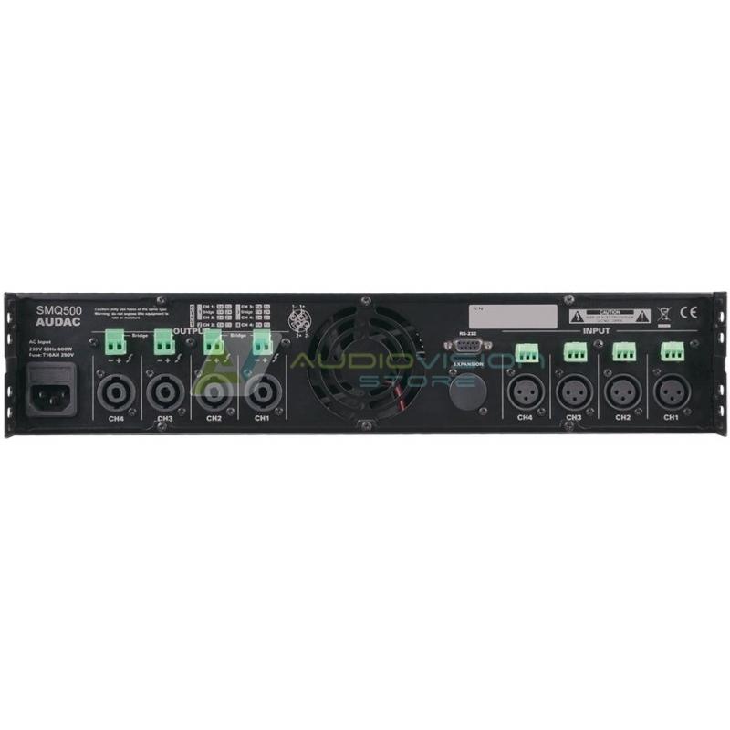 Amplificator audio digital Audac SMQ500 - Wavedynamics™
