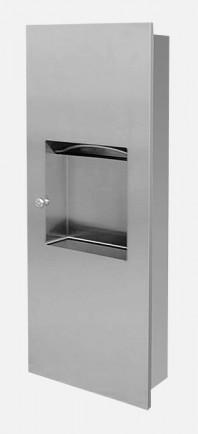 Dispenser de prosoape de hartie din otel inox - SANELA SLZN 21Z