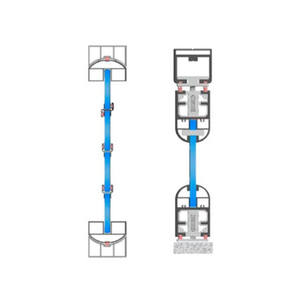 Pereți mobili de sticlă – sistemul glisant Momentum