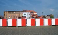 Panouri opace pentru organizare de santier - HERAS M800 City Fence