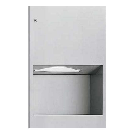 Dispenser incastrat pentru servetele - 9452