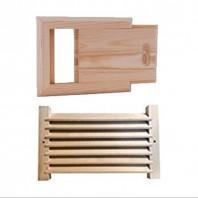Grilaj de ventilatie / aerisire pentru saune