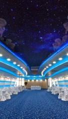 """Peretii curbi si plafoane realizate din placi de gips-carton pentru Centrul de evenimente """"Dumbrava"""" din Targu-Jiu"""
