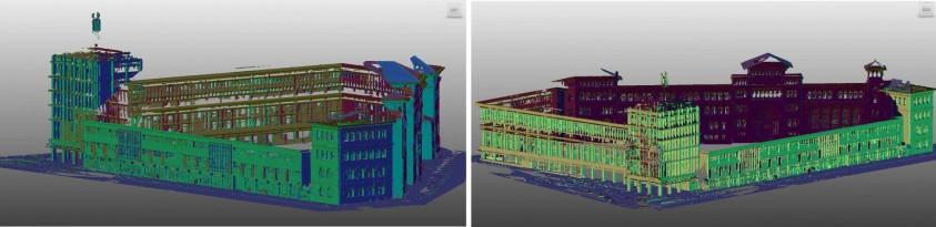 Scanari 3D realizate de GRAPHEIN pentru cladirea Ion Mincu  Bucuresti GRAPHEIN GRAPHEIN