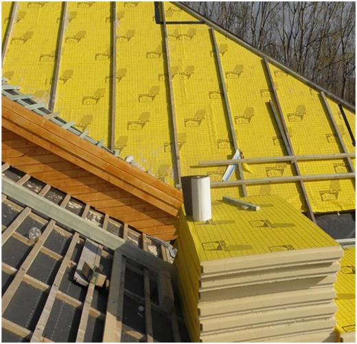 Termoizolații de calitate pentru acoperișuri înclinate