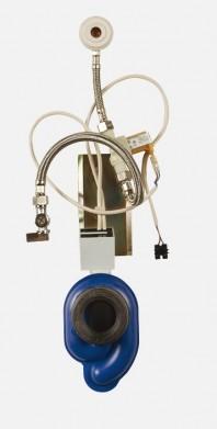 Unitate de spalare pisoare cu senzor radar pe placa de montaj - SANELA SLP 07S