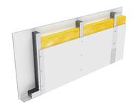 Perete D75, CW50@60, 2x1 Standard 12.5 + MW