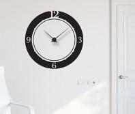 "Sticker tip ceas de perete ""Simplitate"""