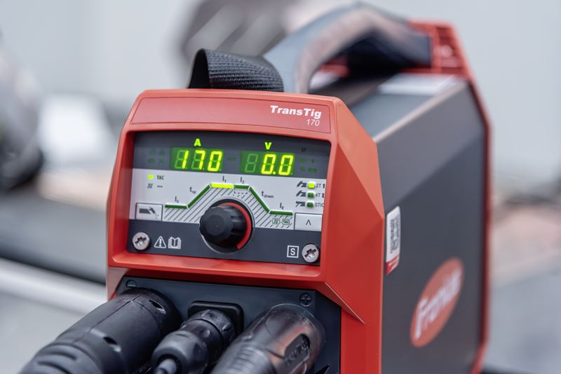 WIG la îndemâna tuturor 10 kg gamă largă de funcții - Noul TransTig 170 210 de