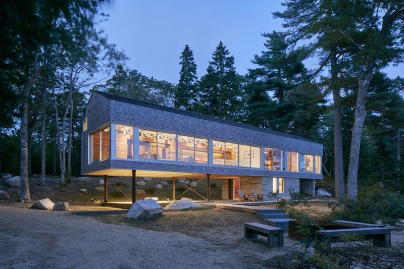 Mirror Point - Annapolis Royal, Nova Scotia, de MacKay-Lyons Sweetapple Architects Limited