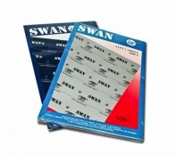Indigo A4 Swan