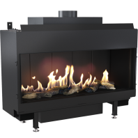 Semineu pe gaz (retea) - L100 G20 - 100cm