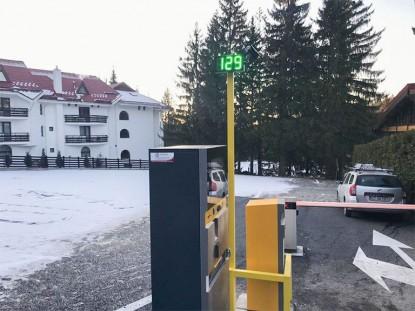 HOTEL EDELWEISS - sistem de parcare cu plata EQUINSA  Poiana Brasov TRITECH GROUP