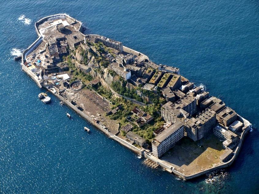 <b>Insula Hashima, Japonia</b>