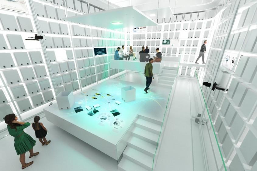 Un muzeu despre fibra de carbon realizat din... fibră de carbon