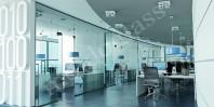 Pereti modulari din sticla pentru compartimentare spatii interioare - Moldoglass
