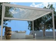 Pergola cu structura si lamele din aluminiu - PGT Sky Roof