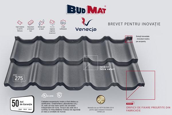 Tigla metalica Budmat Venecja