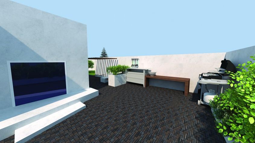 Idei de amenajare a unei terase urbane: stilul industrial
