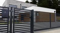 Gard metalic rezidential - KONSPORT Palisade P64