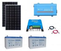 Kit Fotovoltaic Off-Grid 600W cu invertor de 500VA